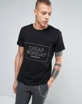 Cheap Monday Standard T-Shirt Thin Box Logo Pocket