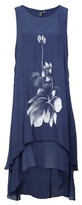 Dorothy Perkins Womens Izabel London Blue Floral Print Swing Dress