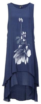 Dorothy Perkins Womens *Izabel London Blue Floral Print Swing Dress