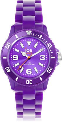 Ice Watch Ice-Watch - ICE solid Purple - Women's wristwatch with plaastic strap - 000630 (Medium)