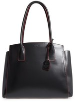 Lodis Audrey Under Lock & Key - Zola Rfid Leather Tote - Black