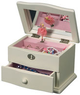 Mele Marianne Girl's Wooden Musical Ballerina Jewelry Box