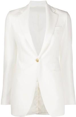 Tagliatore one-button blazer