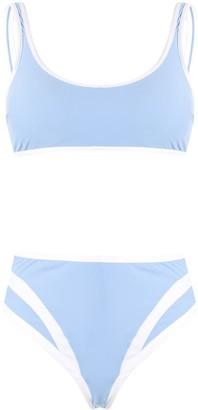Moeva Allen colour-block bikini