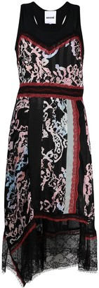 Koché Patchwork Midi Dress
