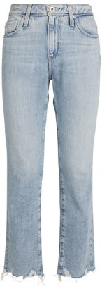 AG Jeans Isabelle Straight Cropped Jeans