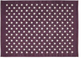 Lorena Canals Estrellitas Acrylic Rug (Purple)