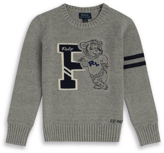 Ralph Lauren Kids Polo Bear Sweater (2-4 Years)