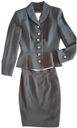 Jacques Fath Black Wool Jacket for Women Vintage