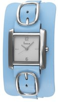 Freelook Women's HA1573-6 Square Leather Band Watch