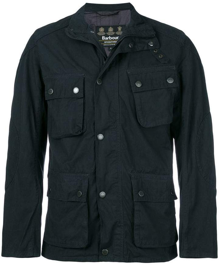 Barbour military style jacket