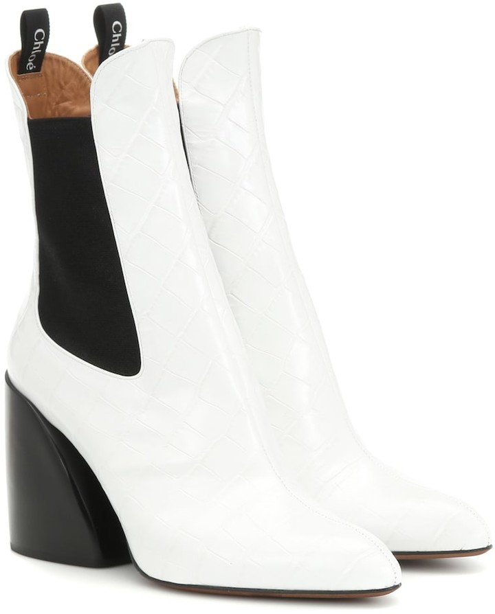 8f2247b1a3 Wave leather ankle boots