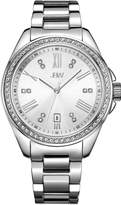 JBW J6340D Capri Japanese-Quartz Movement 12 Diamond Stainless Steel Women's Wrist Watch