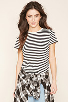 Forever 21 Classic Striped Tee