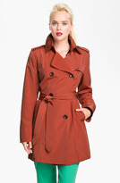 Vince Camuto Double Breasted Raincoat