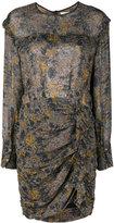 Etoile Isabel Marant Étoile ruffle print dress
