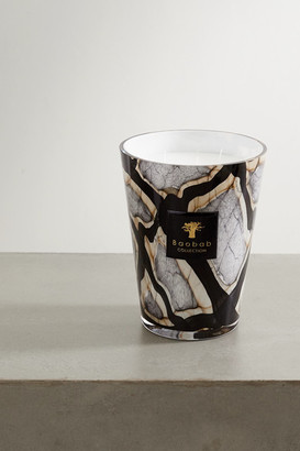 Baobab Collection Marble Max Scented Candle, 5kg - Black