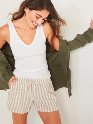 Old Navy Slim-Fit Rib-Knit V-Neck Tank Top for Women