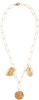 Alighieri The Bea Charm 24kt Gold-plated Necklace - Gold
