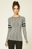 Forever 21 FOREVER 21+ Active Marled Seamless Knit Top