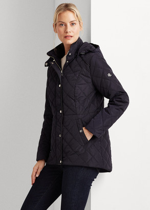 Ralph Lauren Quilted Hooded Jacket