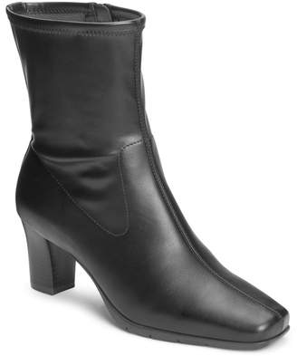Aerosoles Cinnamon Block Heel Mid Boot