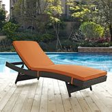 Modway Sojourn Outdoor Patio Chaise in Sunbrella® Canvas