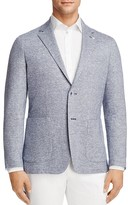 Canali Washed Linen Cotton Regular Fit Sport Coat