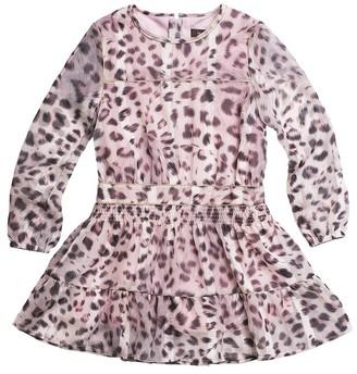 Imoga Printed Chiffon Dress
