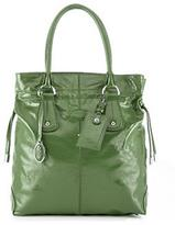 Restyled D-Bag Tote Media, Green
