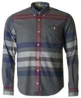 Barbour Alfie Slim Fit Abstract Tartan Shirt