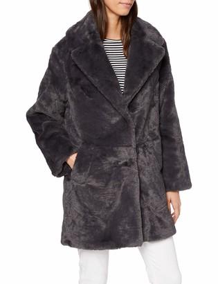 New Look Women's OP AW19 Willow LI Faux Fur COA Coat