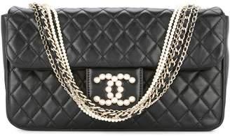 Chanel Pre-Owned 2012-2013 multiple chains shoulder bag