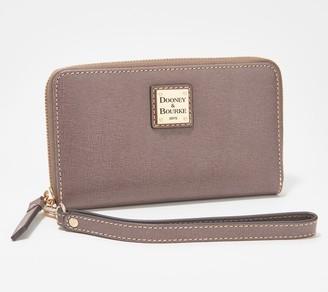 Dooney & Bourke Beacon Saffiano Zip-Around Wallet