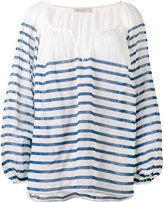 Mes Demoiselles striped blouse - women - Cotton - 34