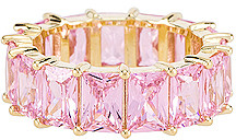 The M Jewelers Ny The M Jewelers NY Light Pink Colored Band
