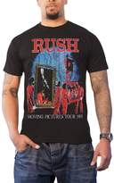 Rush T Shirt Moving Pictures Tour 1981 new Official vintage Mens