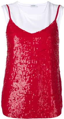 P.A.R.O.S.H. layered sequin top