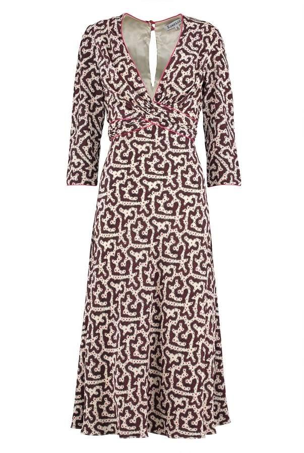 Libelula Millie Dress Spikey Worm Print