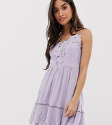 Sisters Of The Tribe cami dress with cross back detail