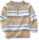 Old Navy Striped Henley for Baby
