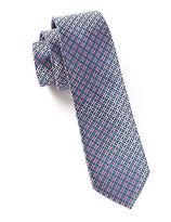 The Tie Bar Silk Geo Print Tie