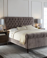 Old Hickory Tannery Lourdes Tufted King Bed