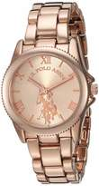 U.S. Polo Assn. Women's Quartz Watch with Alloy Strap