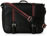 Ben Sherman Black Kingsway Messenger Bag
