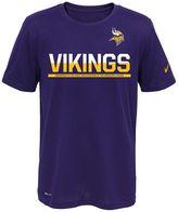 Nike Boys 8-20 Minnesota Vikings Practice Dri-FIT Tee