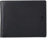Tumi Nassau Global Double Billfold (Black Textured) Wallet