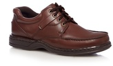 Hush Puppies Brown 'randall' Lace Up Shoes