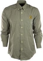 Antigua Men's Long-Sleeve Boston Bruins Button-Down Shirt