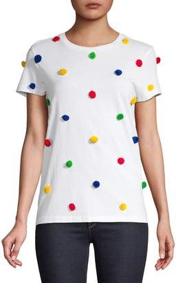 HBC Stripes x Color Me Courtney Women's Pom-Pom T-Shirt
